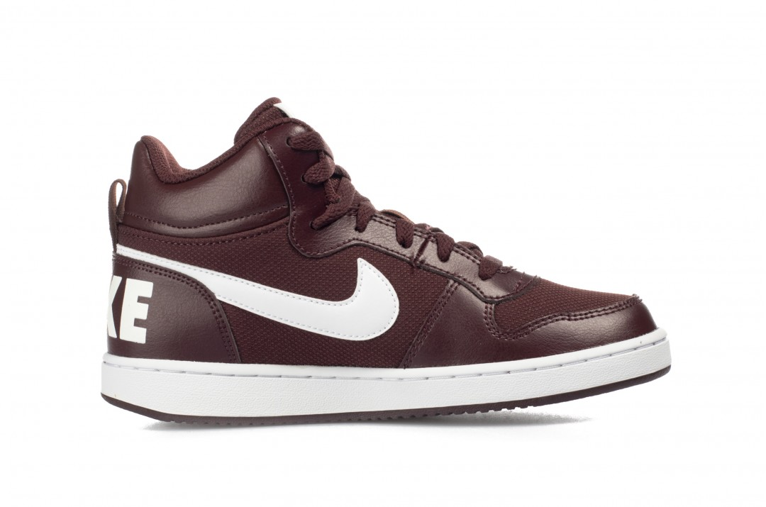 NIKE COURT BOROUGH MID PE GS BV1607-200 Μπορντό