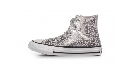 CONVERSE SHE'S A STAR CHUCK TAYLOR ALL STAR 669249C Ασημί