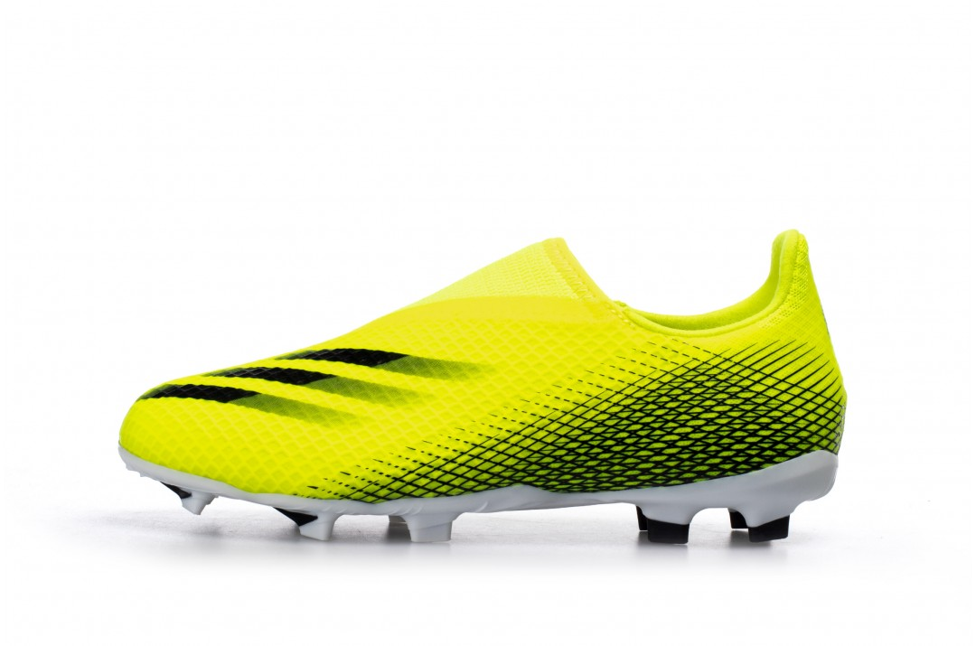 adidas Performance SUPERLATIVE X GHOSTED.3 LACELESS FIRM GROUND BOOTS FW6978 Κίτρινο
