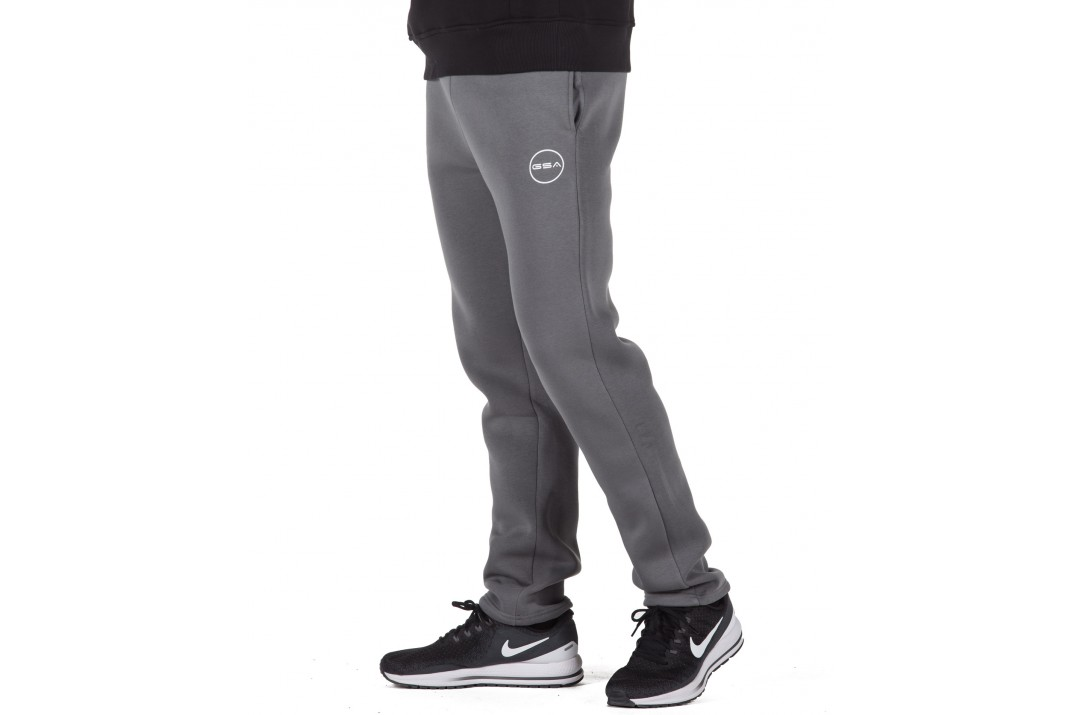 GSA SUPERCOTTON BOOTCUT SWEATPANTS 17-17028-06 CHARCOAL Ανθρακί