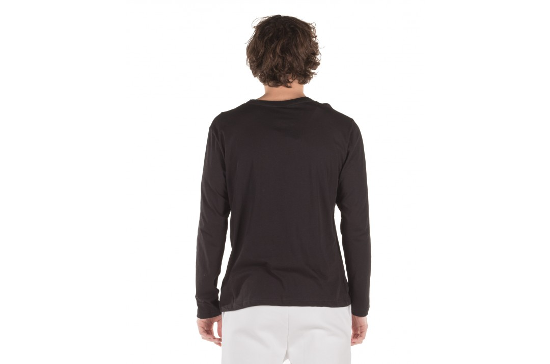 GSA X GREEK FREAK  LONG SLEEVE TEE 34-18009-01 JET BLACK Μαύρο