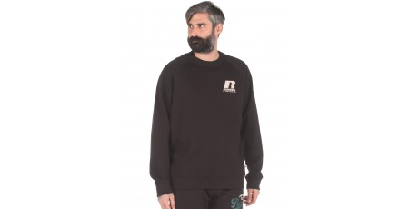 Russell Athletic CREWNECK RAGLAN SWEAT SHIRT A0-071-2-099 Μαύρο