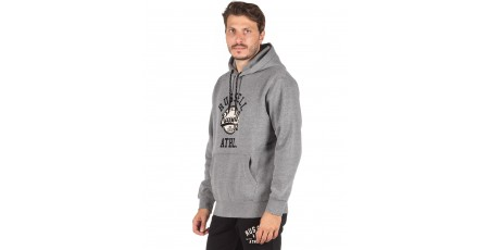 Russell Athletic COLLEGIATE - PULL OVER HOODY A0-031-2-090 Γκρί