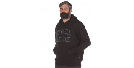 Russell Athletic CAMO PRINTED PULLOVER HOODY A0-088-2-099 Μαύρο