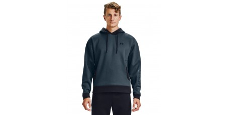 UNDER ARMOUR RECOVER FLEECE HOODIE 1357071-467 Μπλε
