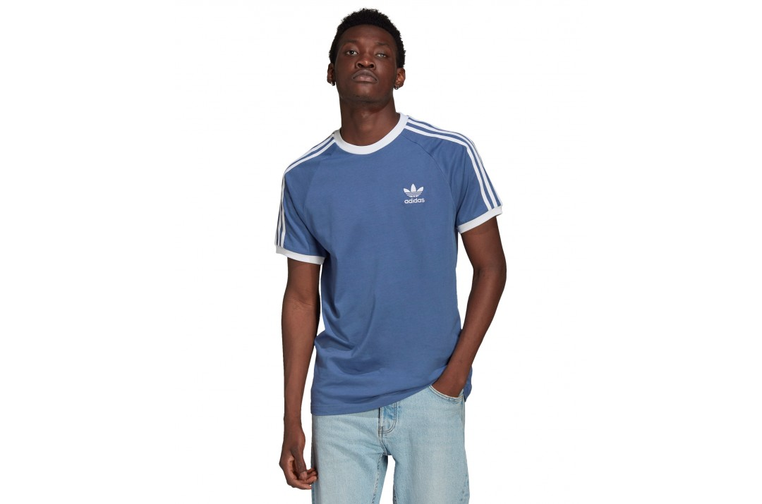 adidas Originals ADICOLOR CLASSICS 3-STRIPES T-SHIRT GN3501 Μπλε