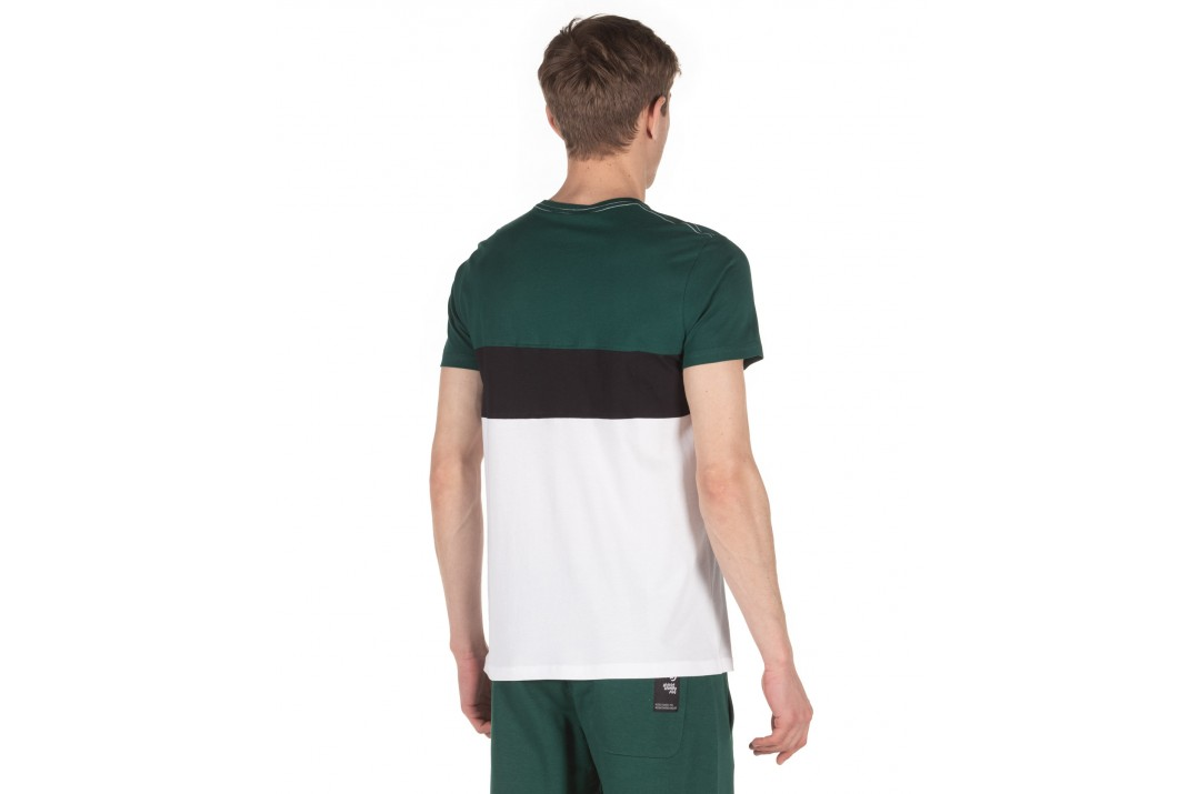 DISTRICT75 MEN'S COLORBLOCK TEE 120MSS-760 Λευκό