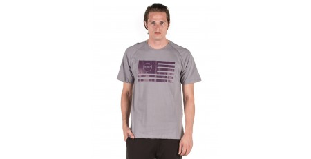 GSA SUPERLOGO T-SHIRTCOLOR EDITION 17-19033-GRAY FLAG Γκρί