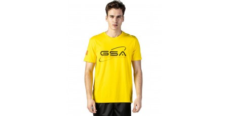 GSA ORGANICPLUS SPACE TEE 17-19209-21 YELLOW Κίτρινο