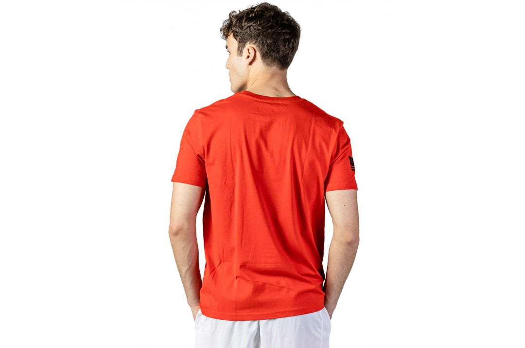GSA ORGANICPLUS SPACE TEE 17-19209-47 RED Κόκκινο