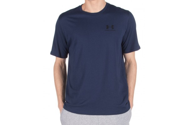 UNDER ARMOUR SPORTSTYLE LEFT CHEST SS 1326799-408 Μπλε