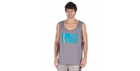 GSA TANK TOP MEN SUPERLOGO COLOR EDITION 17-19043-FLAG Γκρί