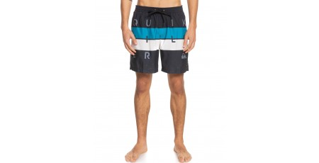 QUIKSILVER WORLD BLOCK VOLLEY 17 EQYJV03694-KVJ6 Μαύρο
