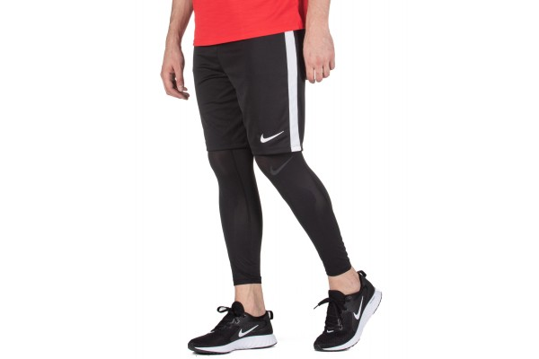 NIKE PRO MEN'S 3/4 BASKETBALL TIGHTS AT3383-010 Μαύρο