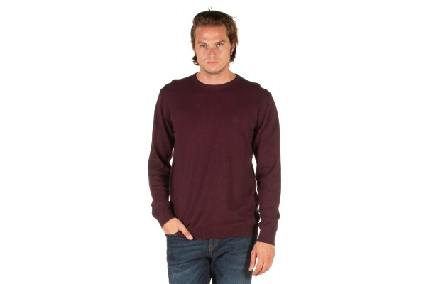 EMERSON COTTON KNITTED SWEATER 192.EM70.90-WINE ML Μπορντό