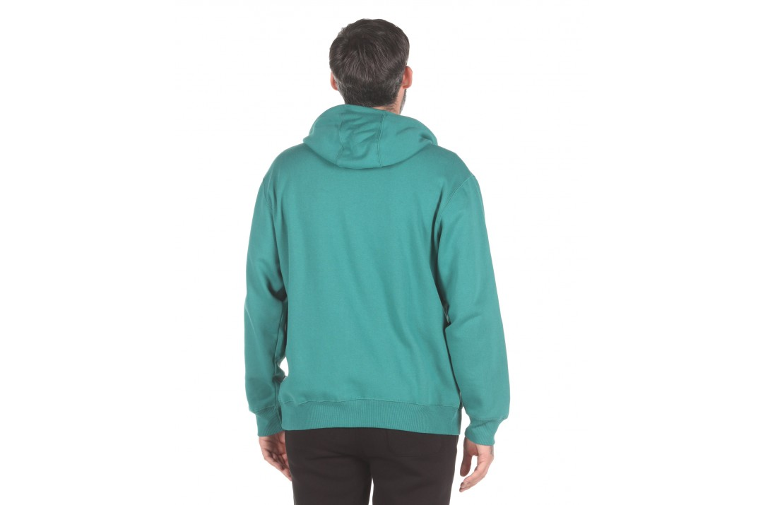 Russell Athletic TRADE MARK USA - ZIP THROUGH HOODY A0-027-2-283 Πράσινο