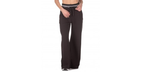BODYTALK TRAINFORW LOOSE WIDE LEG - MEDIUM CROTCH 1211-906100-00100 Μαύρο