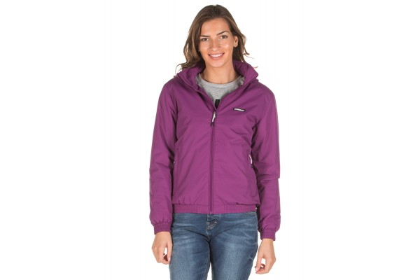 EMERSON ROLL-IN HOODED BOMBER JACKET 192.EW10.88-DOBBY VIOLET Μωβ