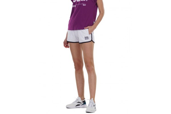 BODY ACTION WOMEN ATHLETIC SHORTS 031128-01-02 Λευκό