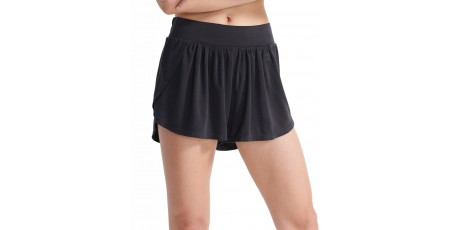 SUPERDRY SPORT FLEX RELAXED SHORTS WS310551A-02A Μαύρο