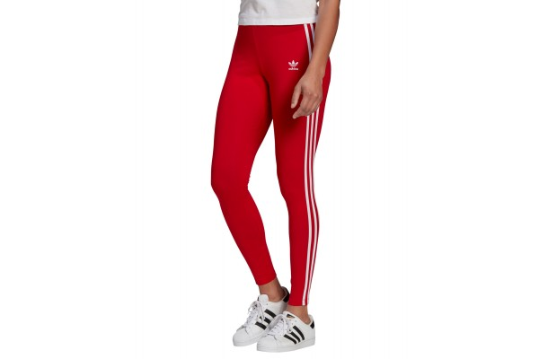 adidas Originals ADICOLOR CLASSICS 3-STRIPES LEGGINGS GN8076 Κόκκινο