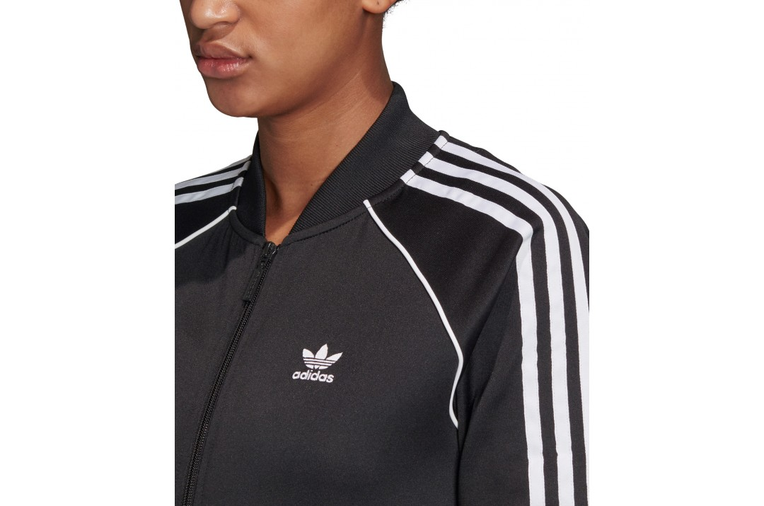 adidas Originals PRIMEBLUE SST TRACK TOP GD2374 Μαύρο