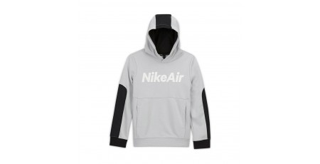 NIKE B NSW AIR FT PO HOODIE CU9297-097 Γκρί