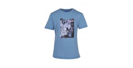 "BODYTALK ""THE WORLD IS YOURS"" BOYS' TEE 1191-751128-00427 Σιελ"