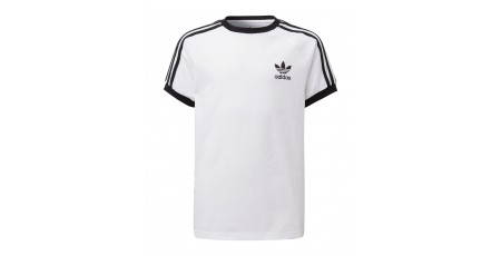 adidas Originals 3-STRIPES T-SHIRT DV2901 Λευκό