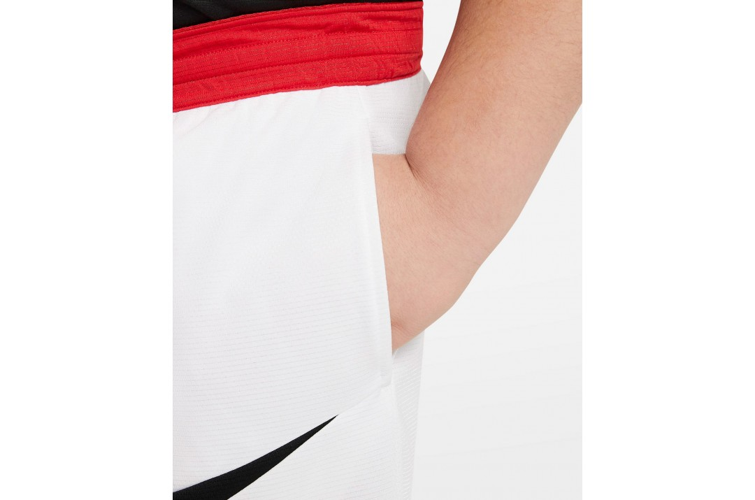 NIKE BASKETBALL SHORTS DA0161-100 Λευκό