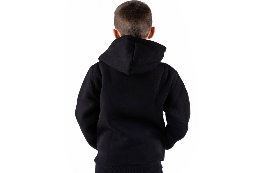 GSA SUPERCOTTON ZIPPER HOODIE 17-38003-01 JET BLACK Μαύρο