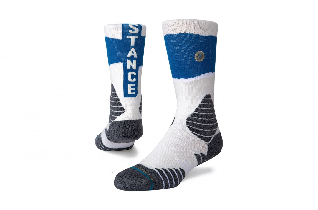 STANCE FEEL360 BASKETBALL M557A20SCR-BLU Λευκό