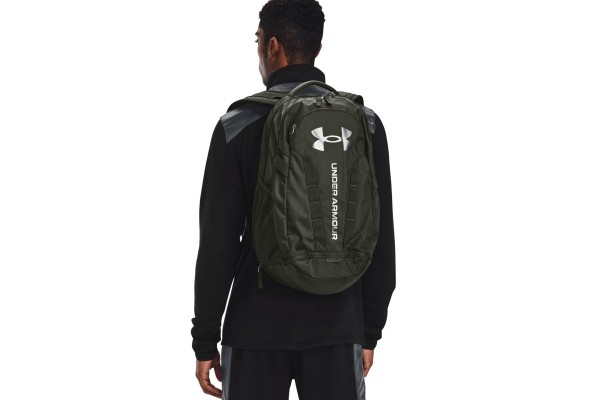 UNDER ARMOUR HUSTLE 5.0 BACKPACK 1361176-001 Μαύρο