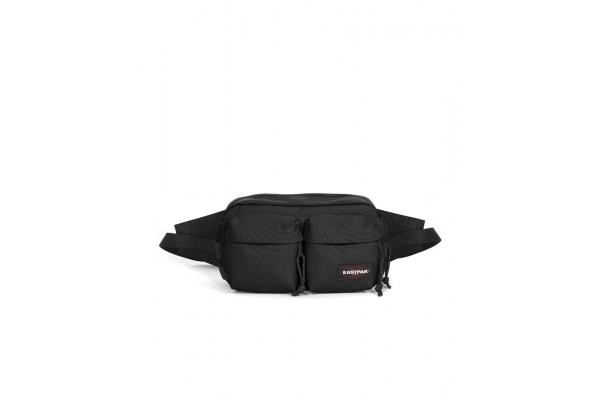 EASTPAK AUTHENTIC BUMBAG DOUBLE EKA5B82-008 Μαύρο