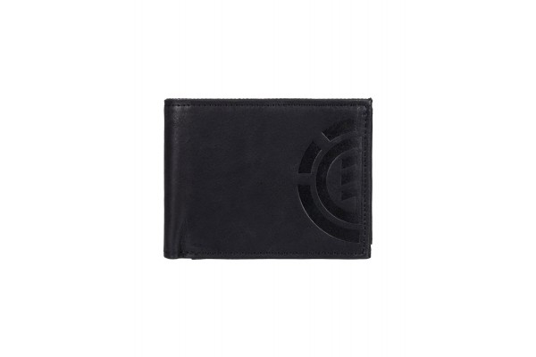ELEMENT DAILY ELITE WALLET W5LWB2ELPP-19 Μαύρο