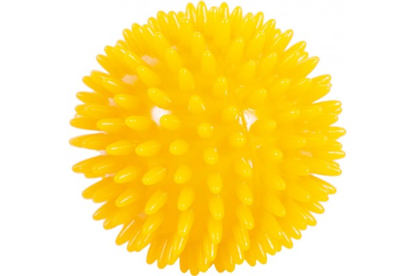 AMILA MASSAGE BALL 8CM 48233 Κίτρινο