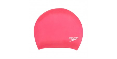 SPEEDO LONG HAIR CAP 8-06168A064 Φούξια