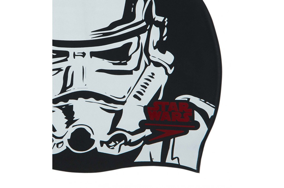 SPEEDO STAR WARS SLOGAN PRINT CAP 8-08385C853 Μαύρο