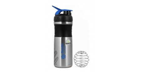 BLENDER BOTTLE 820ML SPORTMIXER STAINLESS Μπλε