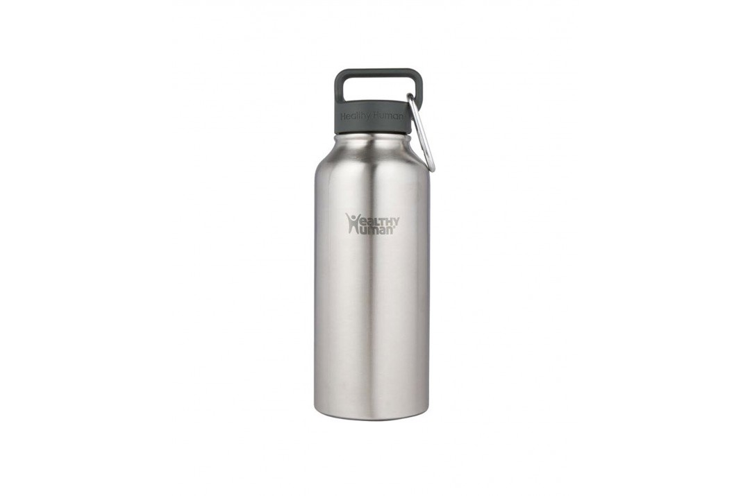 HEALTHY HUMAN 21OZ 621ML STEIN BOTTLE HH-SOB43-STAINLESS STEEL Ασημί