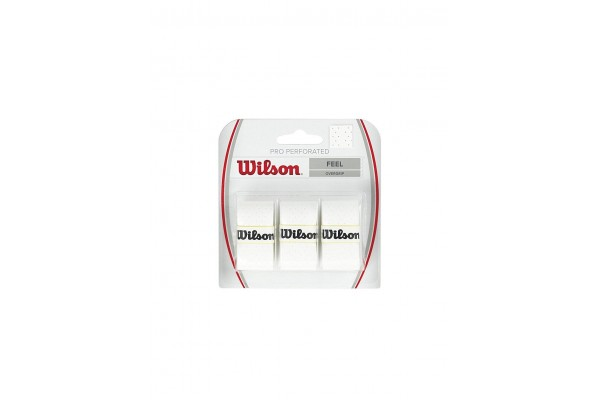 WILSON PRO OVERGRIP PERFORATED WRZ4005WH Λευκό