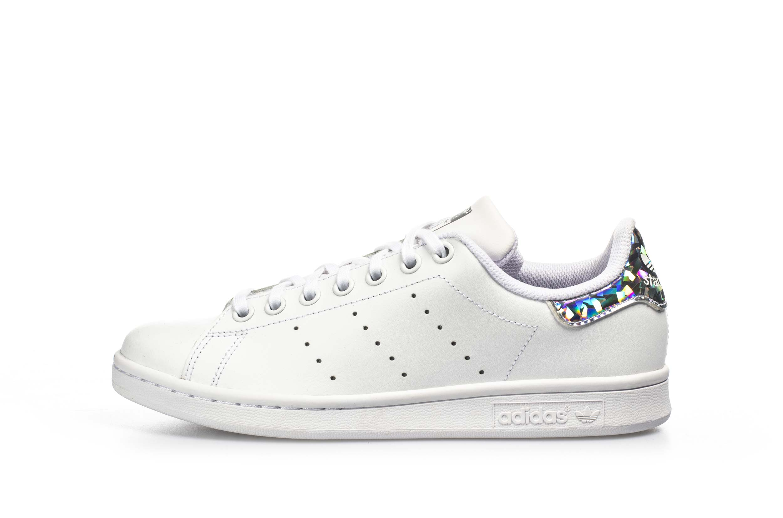 adidas Originals STAN SMITH J EE8483 Λευκό