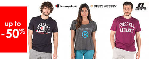 Champion - Body Action - Russell up to -50%