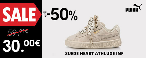 PUMA SUEDE HEART ATHLUXE INF -50%