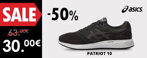 ASICS PATRIOT 10 -50%