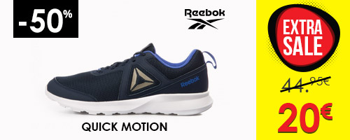 REEBOK QUICK MOTION 21 -50%