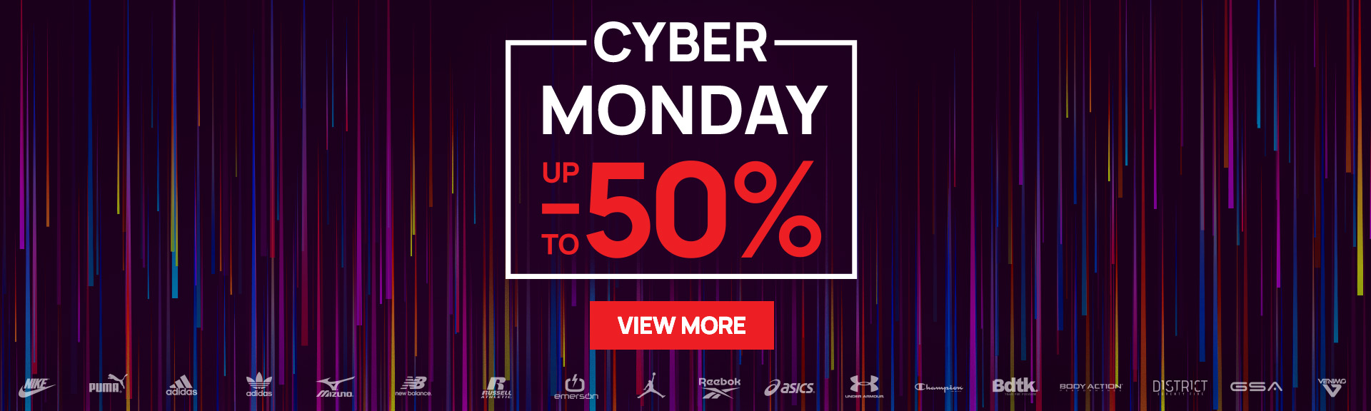 Cyber Monday up to -50%