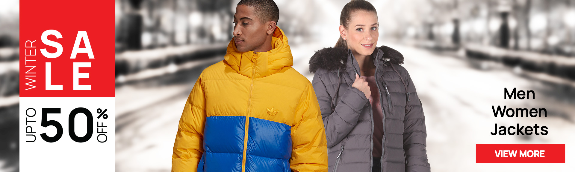 Jackets up to -50%