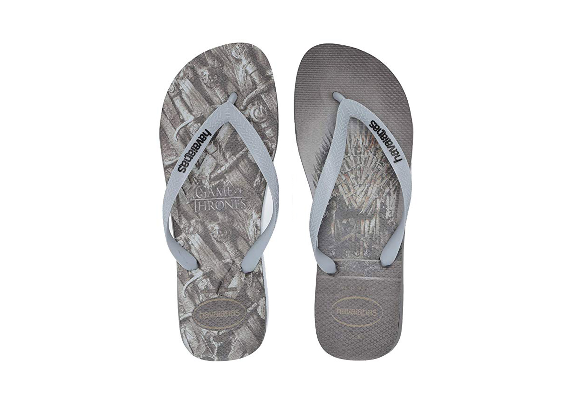 HAVAIANAS TOP GAME OF THRONES 4141854-5178 Ανθρακί