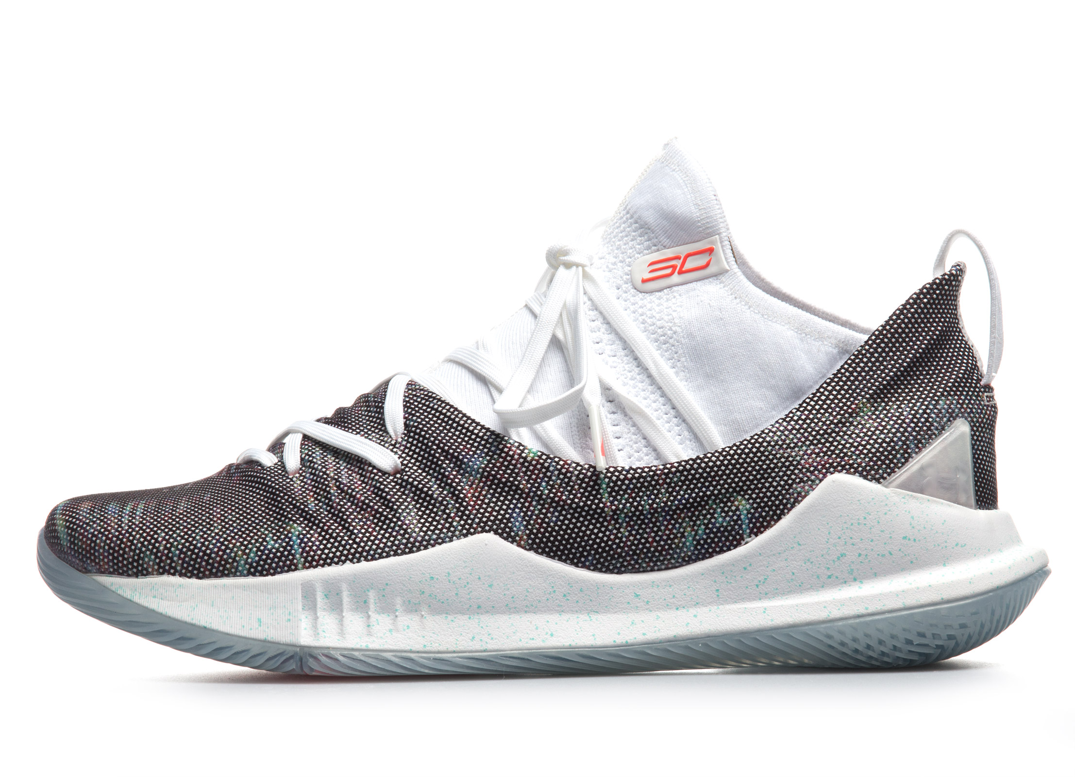 UNDER ARMOUR CURRY 5 «WELCOME HOME» 3020657-107 Λευκό